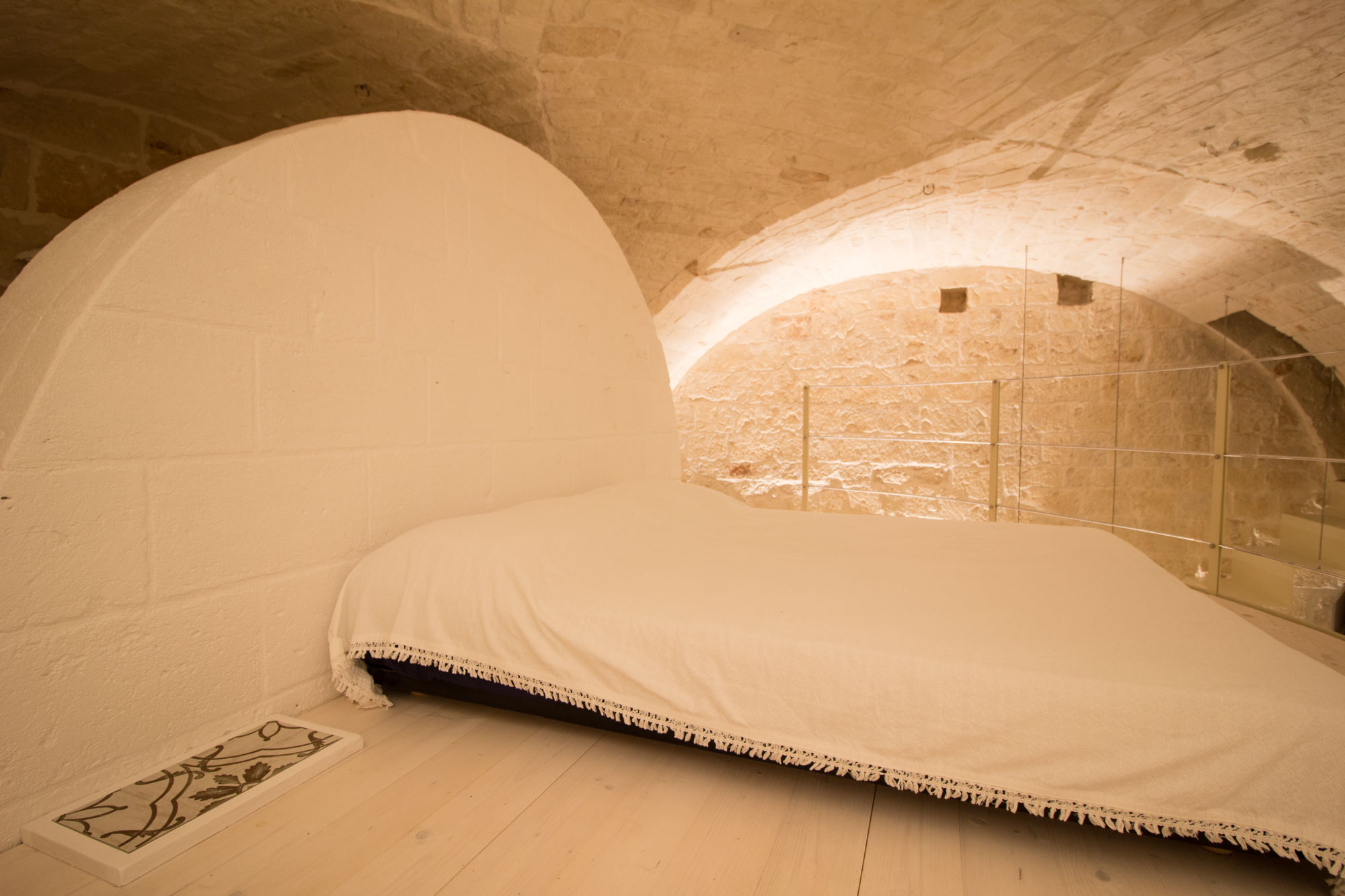 Camera da letto soppalcata - Casa Francesca