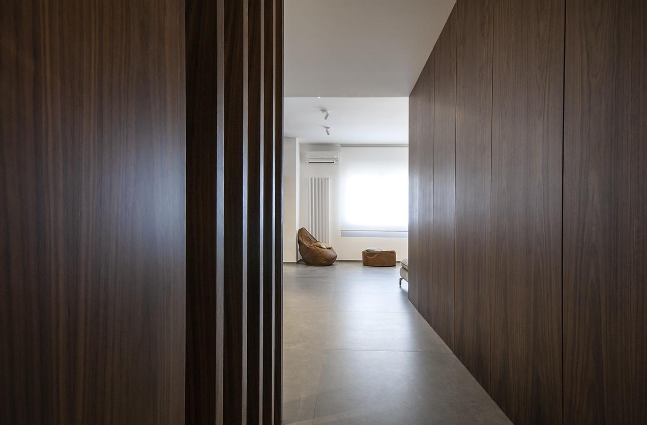 Ingresso su zona Living - Casa Alessandro