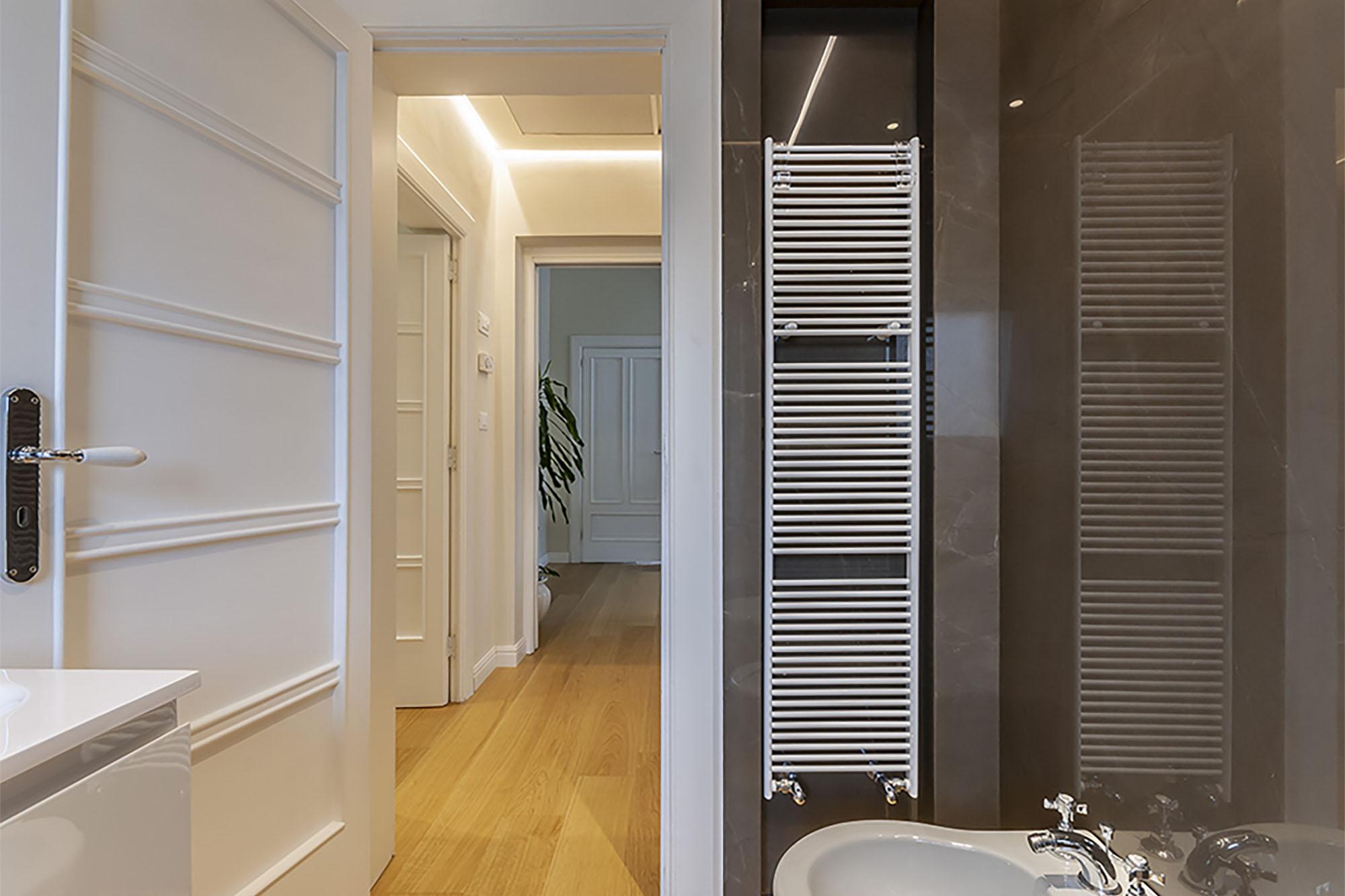 Dettaglio bagno - Casa Rossella e Raffaele