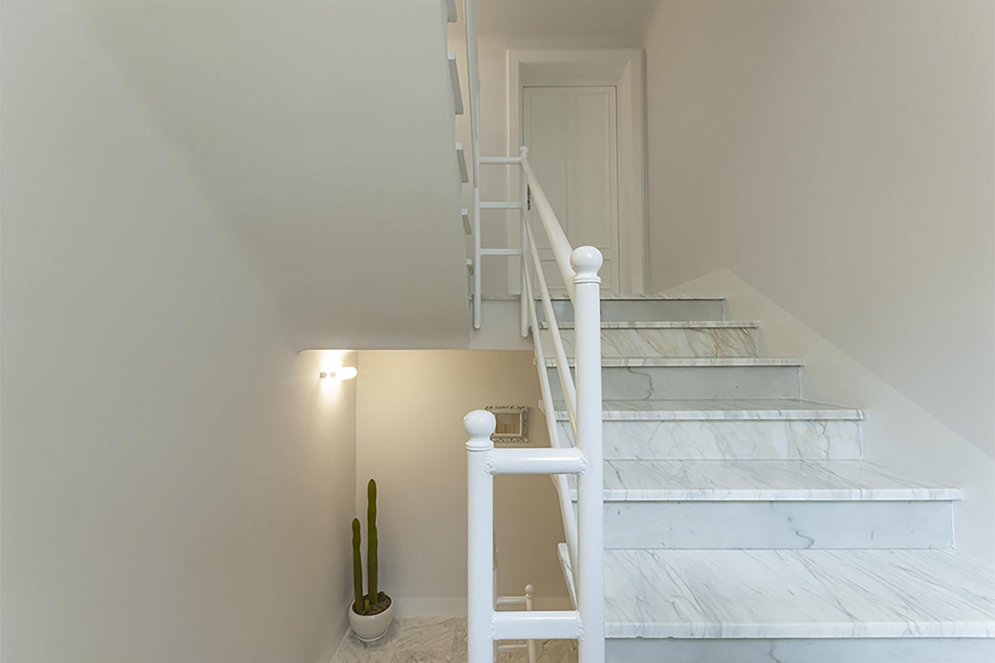 Interno scala - Casa Rossella e Raffaele
