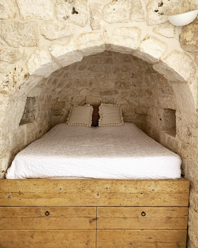 Alcova letto- Casa Gabriele