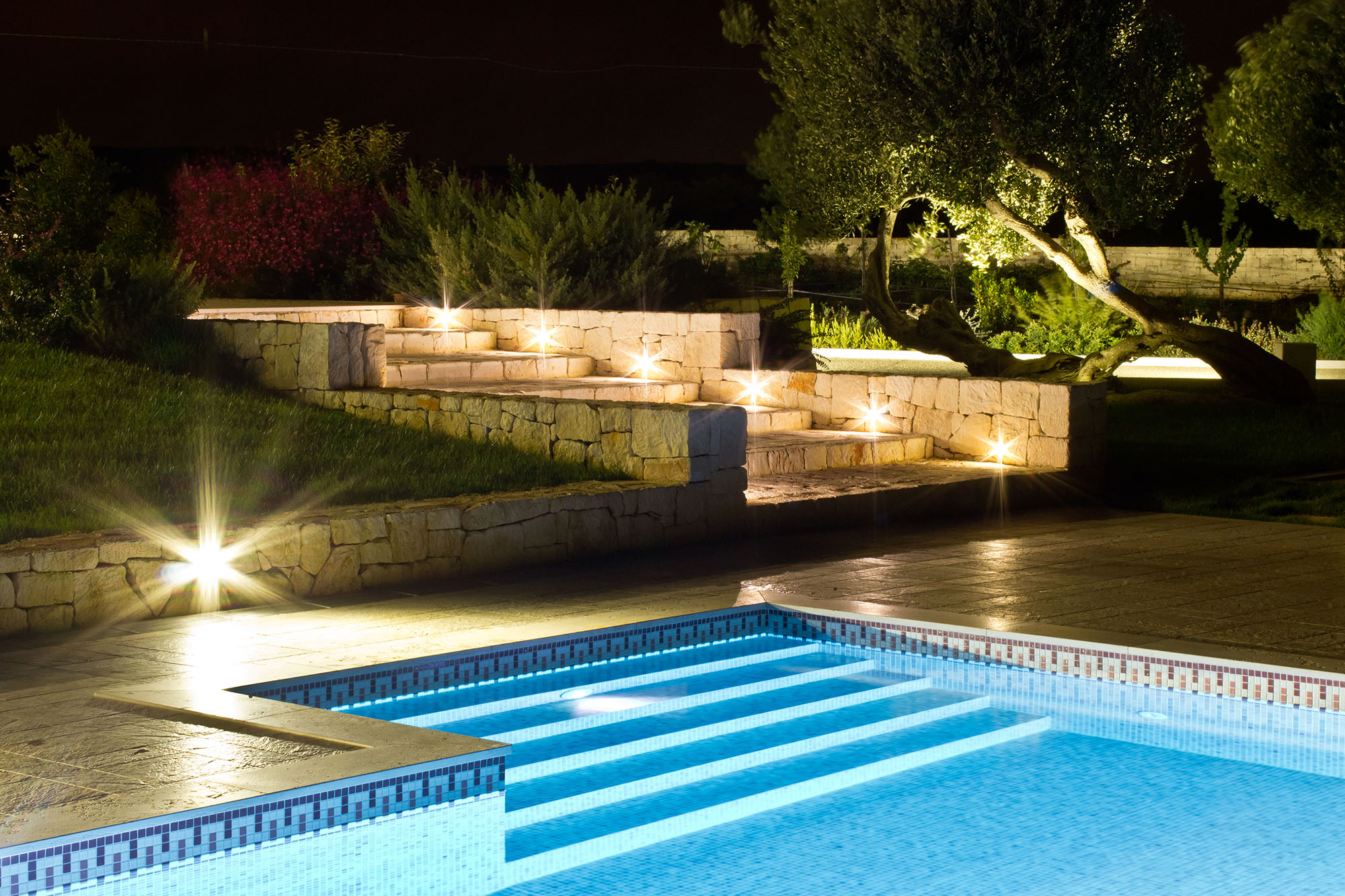 Flore - casa Michele - Vista piscina