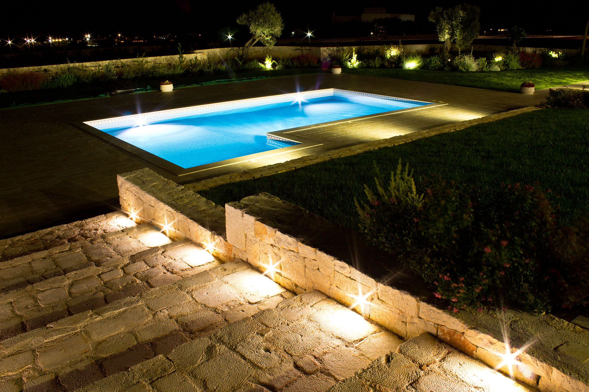 Flore - casa Michele - giardino piscina